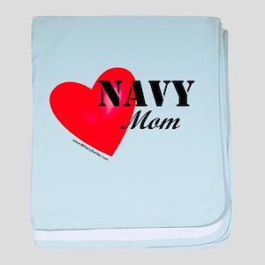 Red Heart_Navy_Mom baby blanket