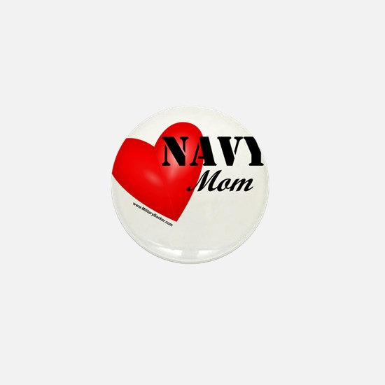 Red Heart_Navy_Mom.png Mini Button