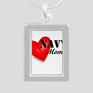 Red Heart_Navy_Mom Necklaces
