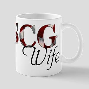 USCG Wife (Flag) Mug