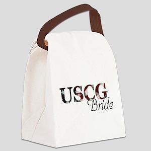USCG Bride (Flag) Canvas Lunch Bag