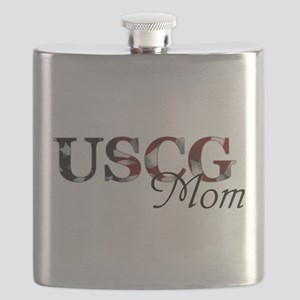 Mom USCG_flag  Flask