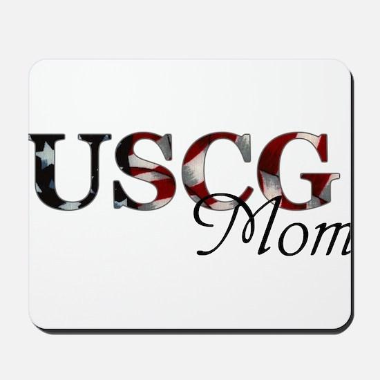 Mom USCG_flag .png Mousepad
