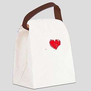 I love heart Bernie Sanders 2016  Canvas Lunch Bag