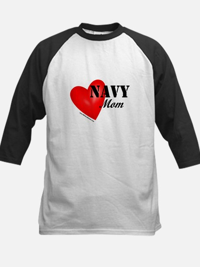 Red Heart_Navy_Mom Baseball Jersey