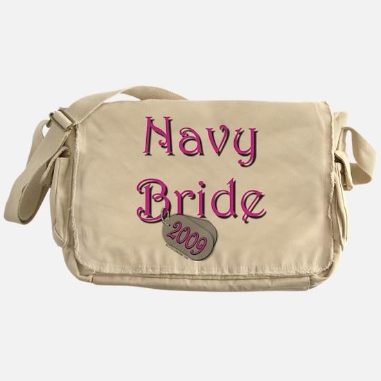 Cool Navy fiance Messenger Bag