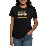 CHDC Defend/Gold: Women's Dark T-Shirt