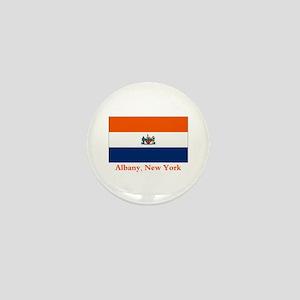 Albany NY Flag Mini Button