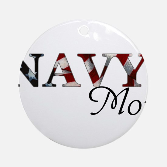 Cute Military dad Round Ornament