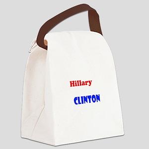 Hillary Rodham Clinton Canvas Lunch Bag