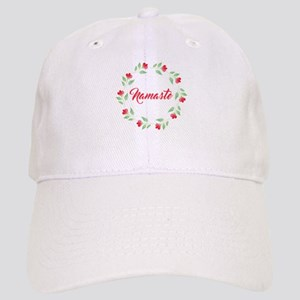 Namaste Wreath Baseball Cap