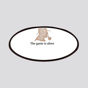 the game is afoot Sherlock Holmes mystery te Patch