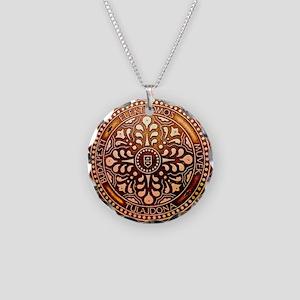 Budapest Manhole Cover Necklace