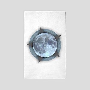 Moon Star Area Rug