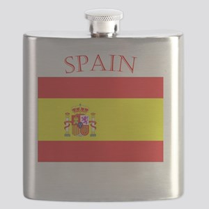Spanish Flag spain yellow Flask