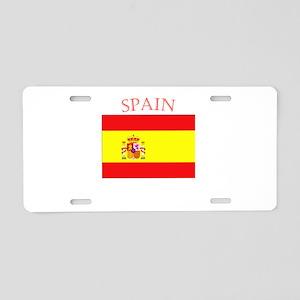 Spanish Flag spain yellow Aluminum License Plate