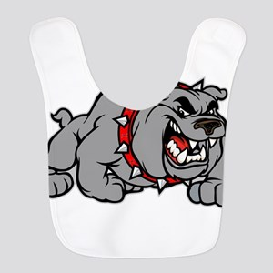 grey bulldog Bib
