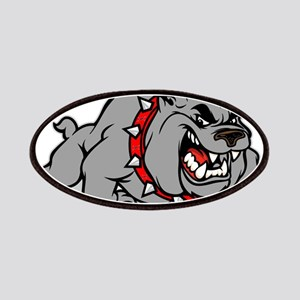 grey bulldog Patch