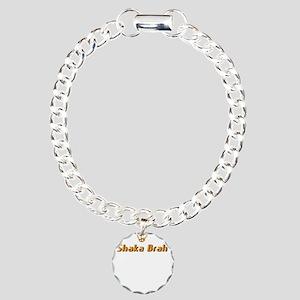 shaka brah zip line Charm Bracelet, One Charm