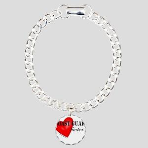 Red Heart_Coast Guard_Si Charm Bracelet, One Charm