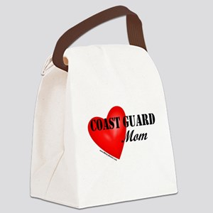 Red Heart_Coast Guard_Mom Canvas Lunch Bag