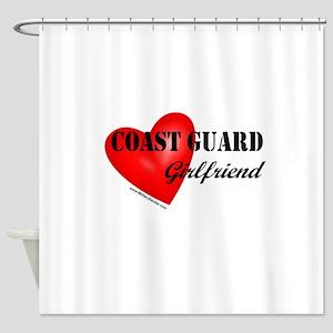 Red Heart_Coast Guard_GF Shower Curtain