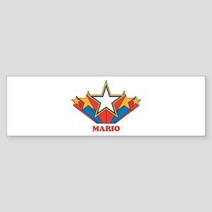 MARIO superstar Bumper Sticker