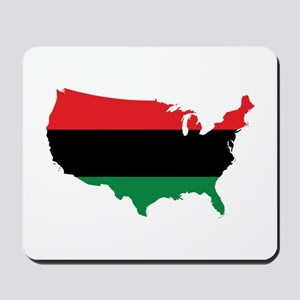 African American _ Red, Black & Green Colors Mouse