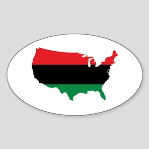 African American _ Red, Black & Green Colors Stick