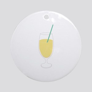 Cocktail Round Ornament