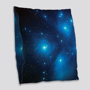 PLEIADES Burlap Throw Pillow