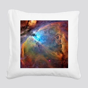 ORION NEBULA Square Canvas Pillow