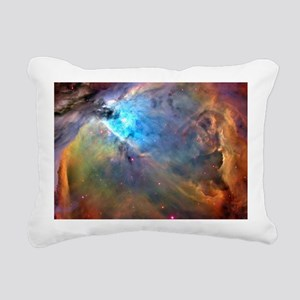 ORION NEBULA Rectangular Canvas Pillow