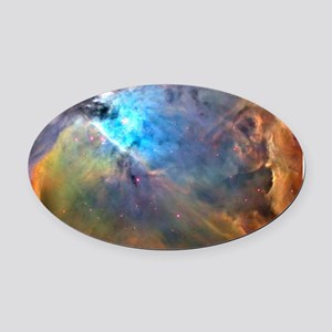 ORION NEBULA Oval Car Magnet