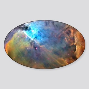 ORION NEBULA Sticker (Oval)