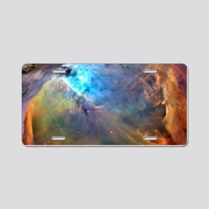ORION NEBULA Aluminum License Plate