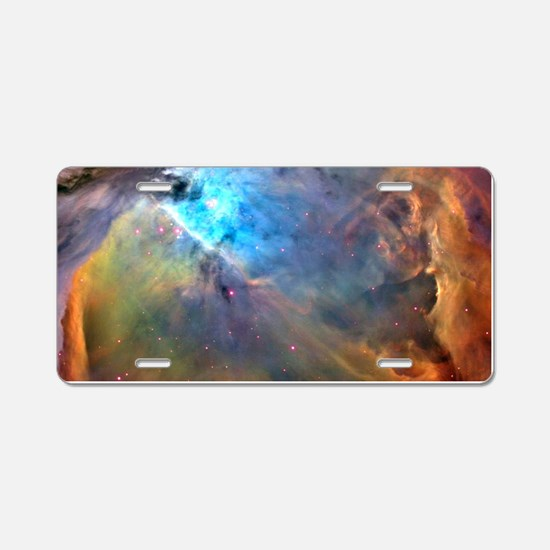 ORION NEBULA Aluminum License Plate