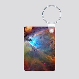 ORION NEBULA Aluminum Photo Keychain