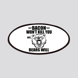 Bacon Bears Patch