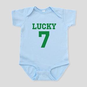 LUCKY 7 Baby Light Bodysuit