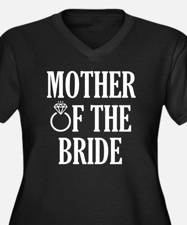 Mother of the Bride wedding Plus Size T-Shirt