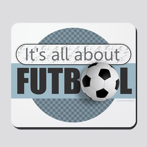 All About Futbol Mousepad
