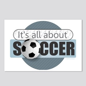 All About Soccer Postcards (Package of 8)