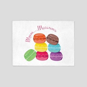 Mmm...Macarons 5'x7'Area Rug