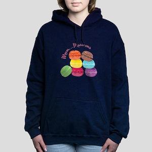 Mmm...Macarons Women's Hooded Sweatshirt