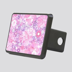 Lovely Ring Shapes on flow Rectangular Hitch Cover