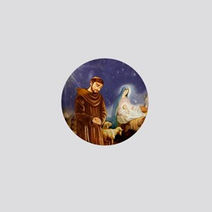 St. Francis Christmas #1 Mini Button