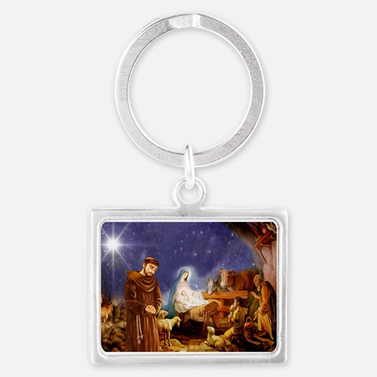 St. Francis Christmas #1 Keychains