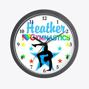 CHAMPION GYMNAST Wall Clock