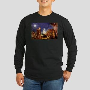 St. Francis Christmas #1 Long Sleeve T-Shirt